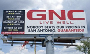 GNC Billboard